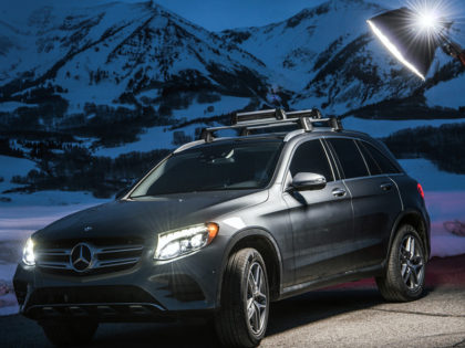 Mercedes-Benz GLC300 with Michelle Parker