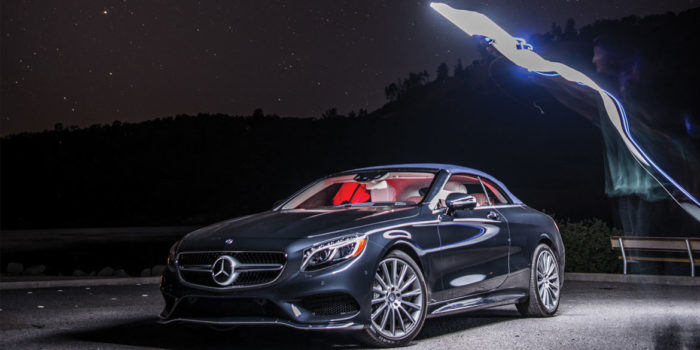 Mercedes-Benz S-Class Cabriolet and Palmaz Vineyards – A Perfect Pairing